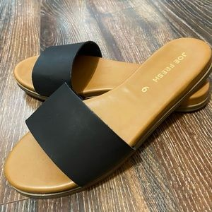 Two pairs of sandals, never worn!